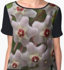 Hoya Waxflower Women's Chiffon Top