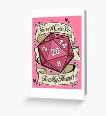 Dnd Greeting Cards Redbubble