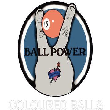Ball Power T-Shirt by VivianDunn