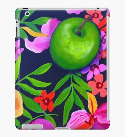 Green Apple iPad Case/Skin