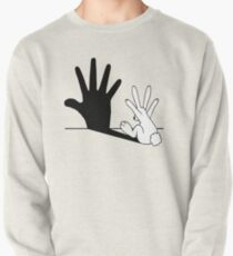 Sudadera sin capucha Rabbit Hand Shadow