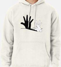 Kaninchen Handschatten Hoodie