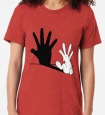 Kaninchen Handschatten Vintage T-Shirt