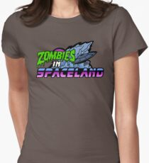 Zombies in Spaceland Women's Fitted T-Shirt