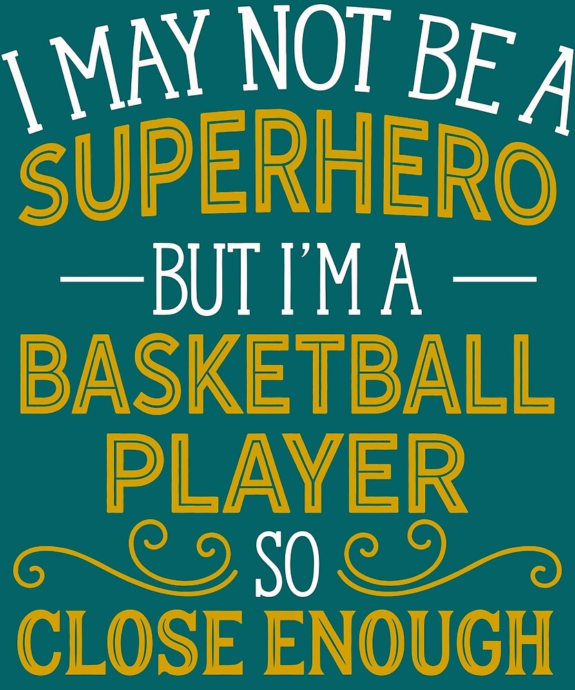 Superhero But Basketball Player  by AlwaysAwesome