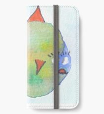 Dicker Fisch iPhone Wallet/Case/Skin