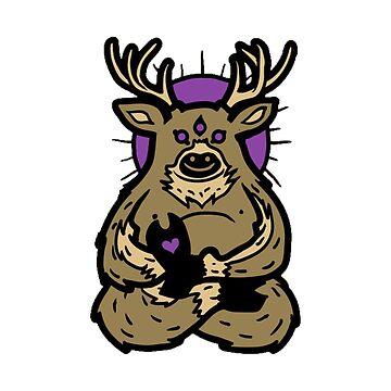 deer by gajahmada99