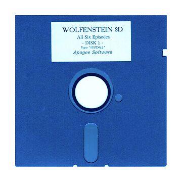 Wolfenstein Floppy 1.2 by geek-art-uk