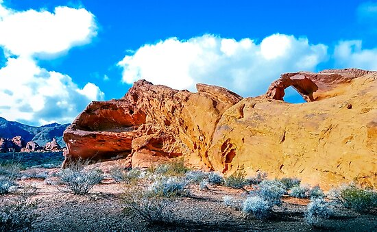 Valley of Fire Atlatl Rock by roccoyou