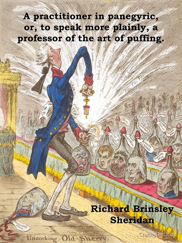 A Practitioner In Panegyric - Richard Brinsley Sheridan by CrankyOldDude