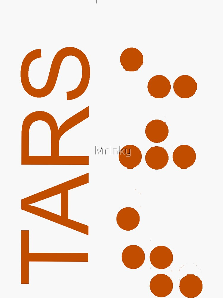 TARS Logo - Interstellar by MrInky