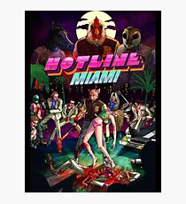 Hotline Miami Photographic Print