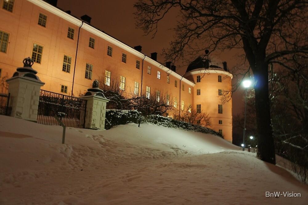 Uppsala Castle, winter wonderland by BnW-Vision