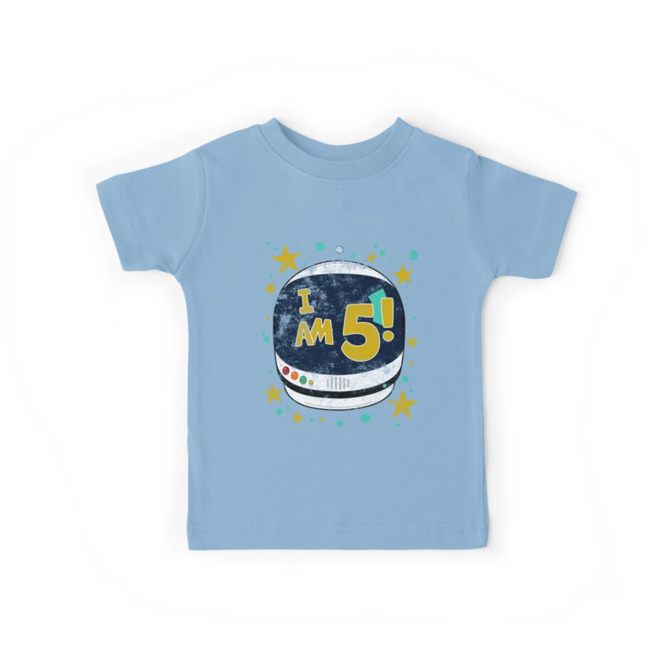 Astronaut 5th Birthday Party by superpartytees