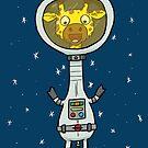 Astro Giraffe by striffle
