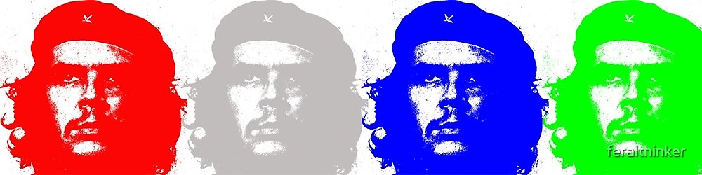 Che Quadriptych  by feralthinker