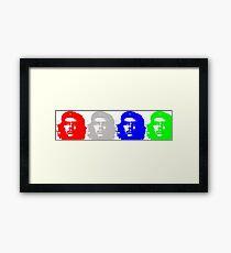 Che Quadriptych  Framed Print