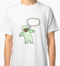 cartoon man in radiation suit Classic T-Shirt