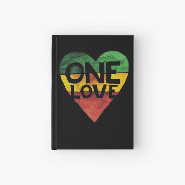 Eine Liebe Musik Rasta Reggae Herz Frieden Wurzeln Notizbuch