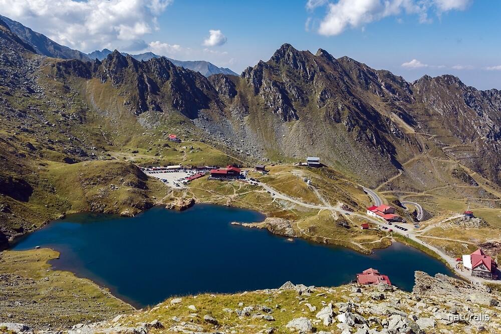 Balea Lake in Romania by naturalis