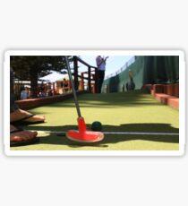 Mini Golf Sticker