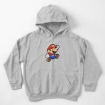 Paper Mario Kids Pullover Hoodie