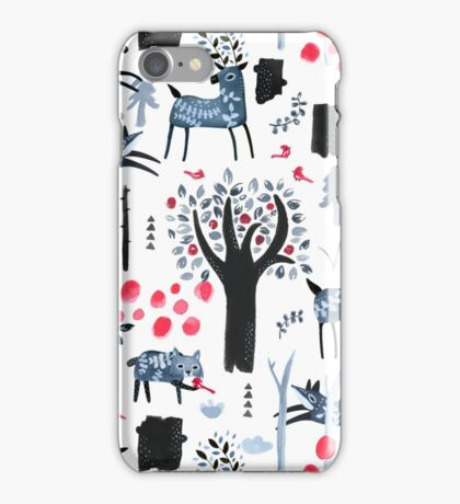 Frosted Forest iPhone Case/Skin