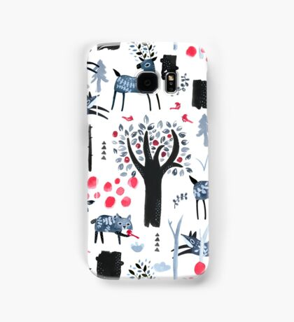 Frosted Forest Samsung Galaxy Case/Skin