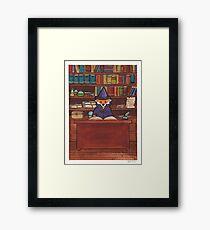 James the Wizard Fox Framed Print