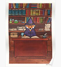 James the Wizard Fox Poster