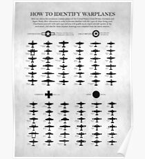 How To Identify Warplanes Poster