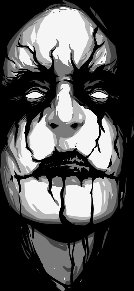 Black Kult- Black metal face by CorvusAttic