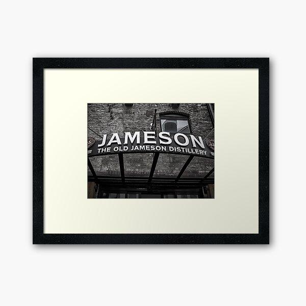 Jamesons Sign Framed Art Print
