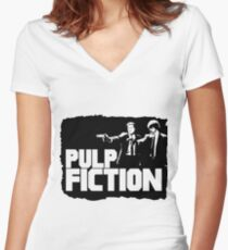 So pulp Women's Fitted V-Neck T-Shirt