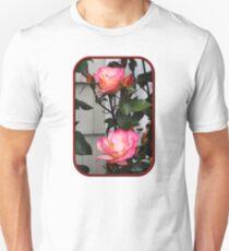 Roses on a Trellis Unisex T-Shirt