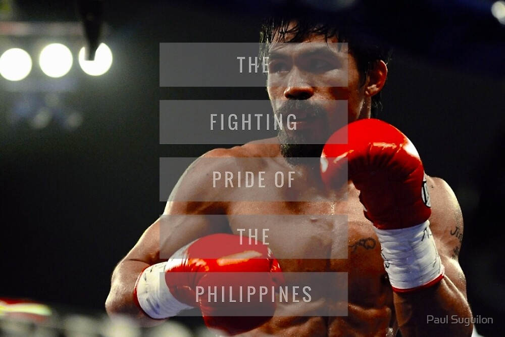 Manny Pacquiao by Paul Suguilon