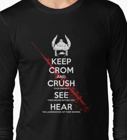 KEEP CROM Long Sleeve T-Shirt