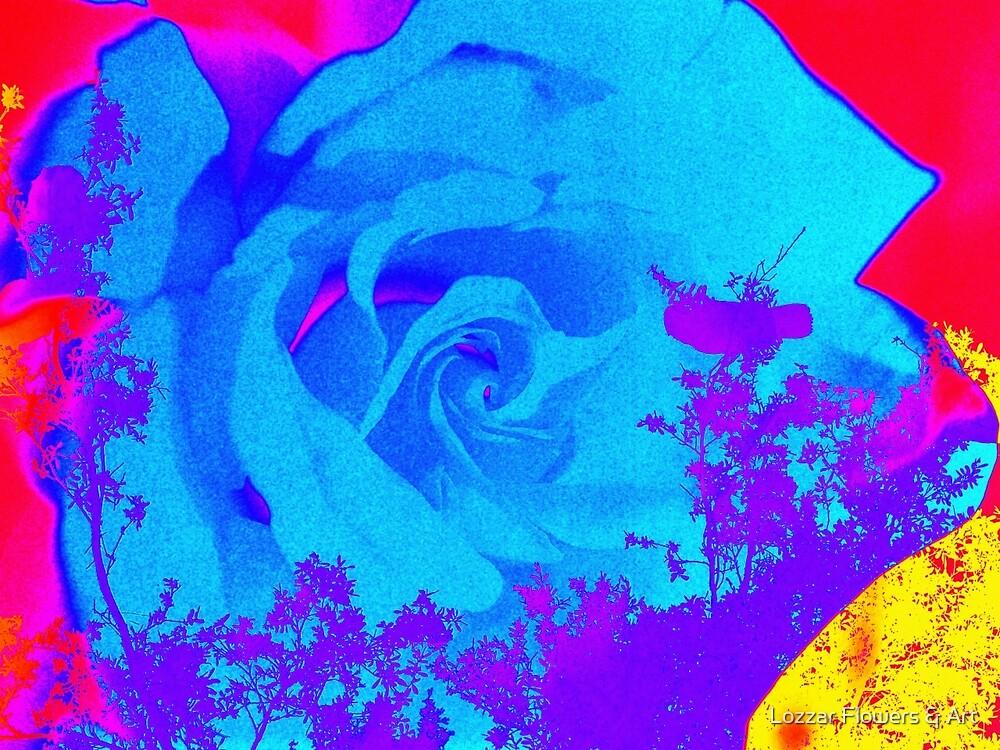 Blue Song by Lozzar Flowers & Art