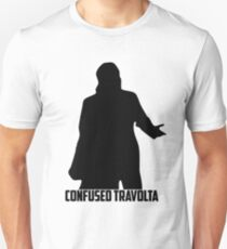 Confused Travolta Unisex T-Shirt