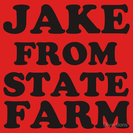 TShirtGifter presents: JAKE FROM STATE FARM | Unisex T-Shirt