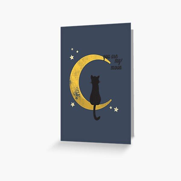 My Moon Greeting Card