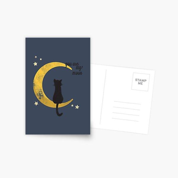My Moon Postcard