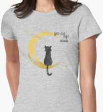 My Moon Women's Fitted T-Shirt