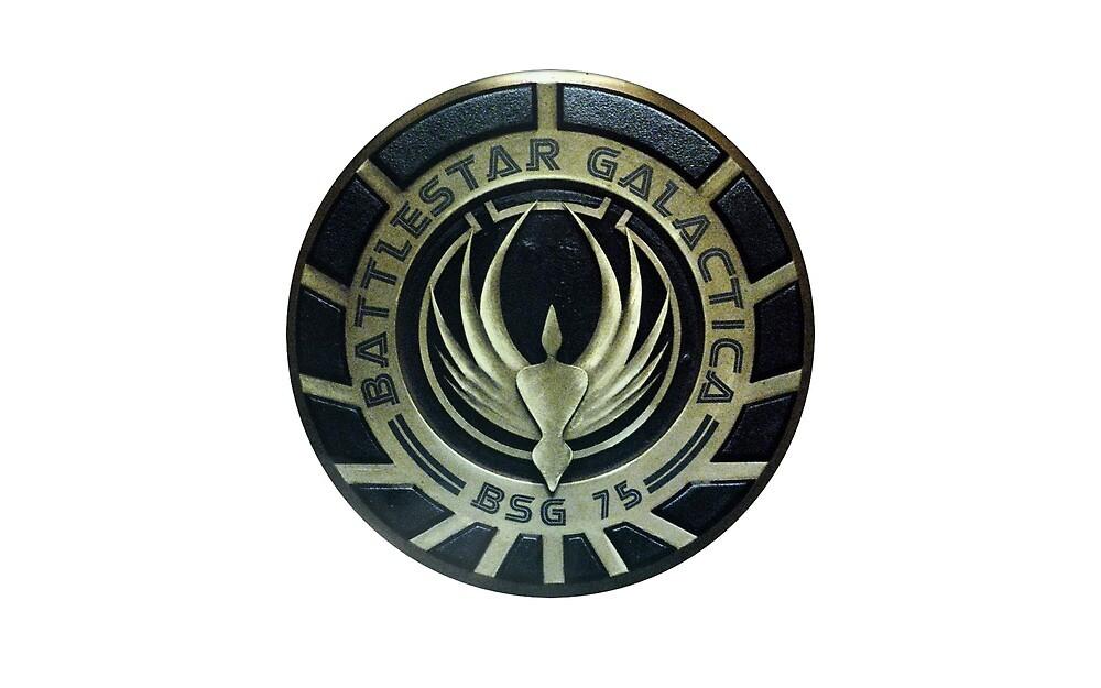 Battlestar Galactica Badge by bhsun