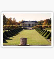 Uppsala Botanical Gardens Sticker