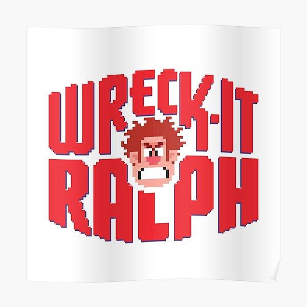 Wreck It Ralph! Poster