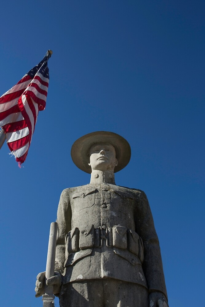 Soldier, Elkhart, Illinois by mattwhitby