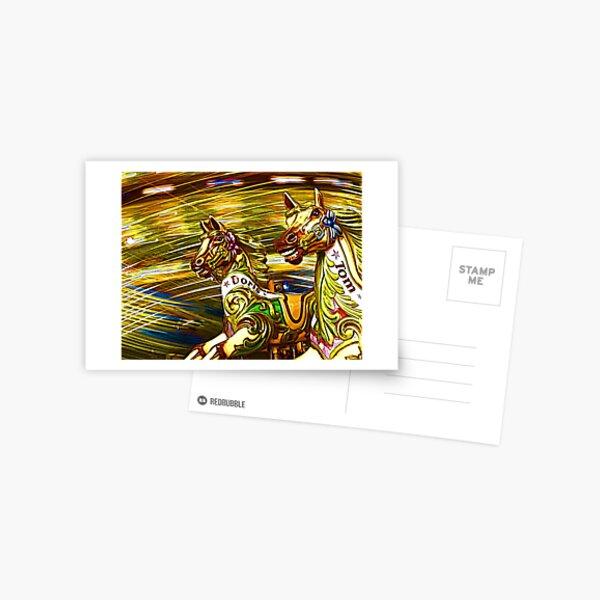 Wilde Pferde Postkarte