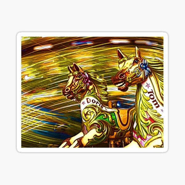 Wild Horses Sticker