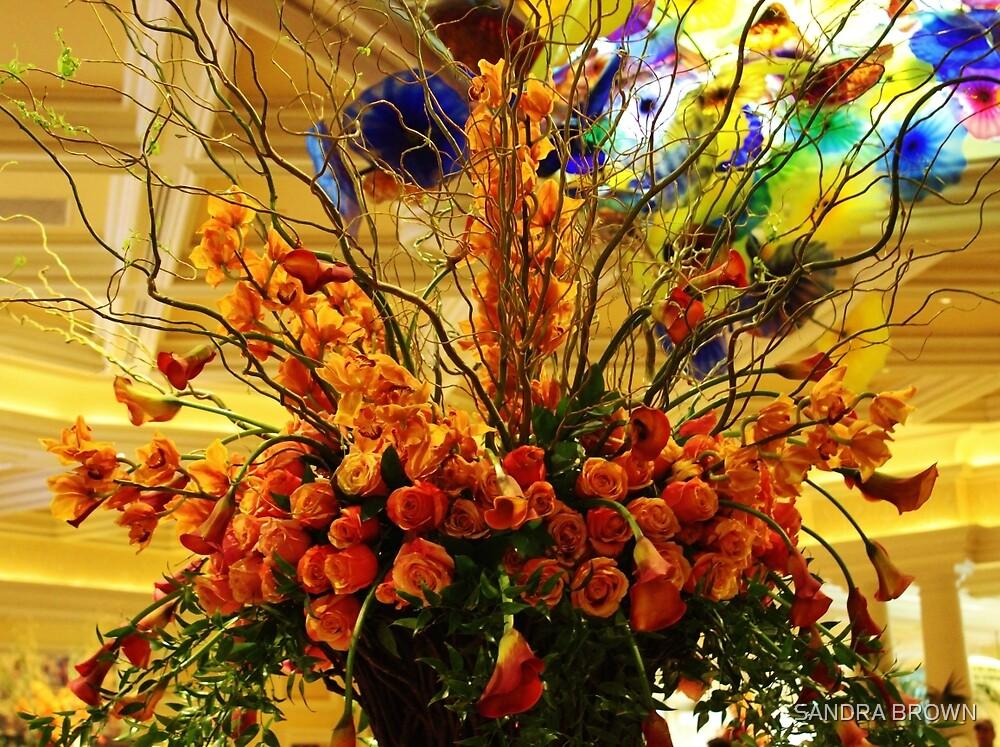 Flowers by SANDRA BROWN